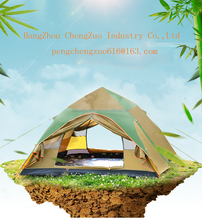 Hot Selling Automatic Hydraulic Tent,Double Layer 3-4 Person Waterproof Outdoor Camping Tent,CZ-0028 Automatic Travelling Tent