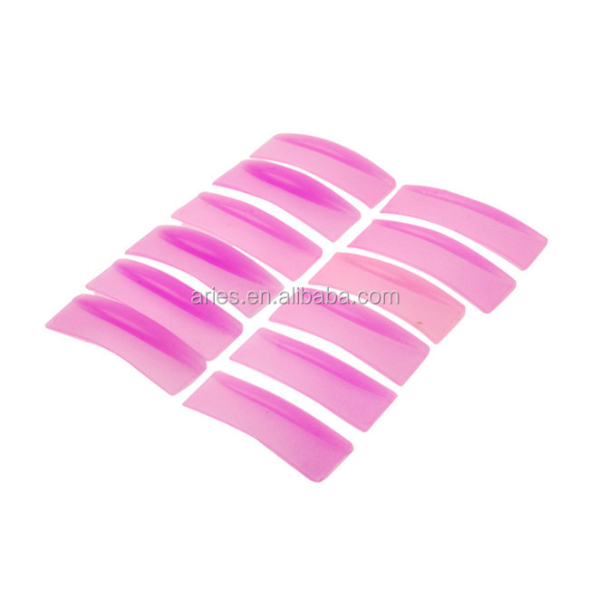 Professional Silicone False Eyelashes Eye Lashes Extension Shield Pad Holders Curling Perming Kit Apply New