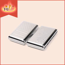JL-007N China Yiwu Jinlin the new metal cigarette case manufacturer