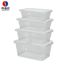 High temperature disinfection PP Injection molding plastic container custom made pastry plastic containers food packing boxes