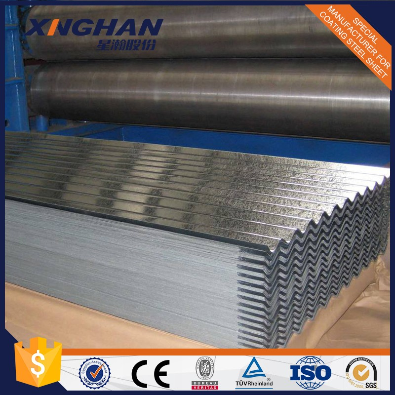 Galvanized coated corrugated iron plate for roofing sheet China manufacture