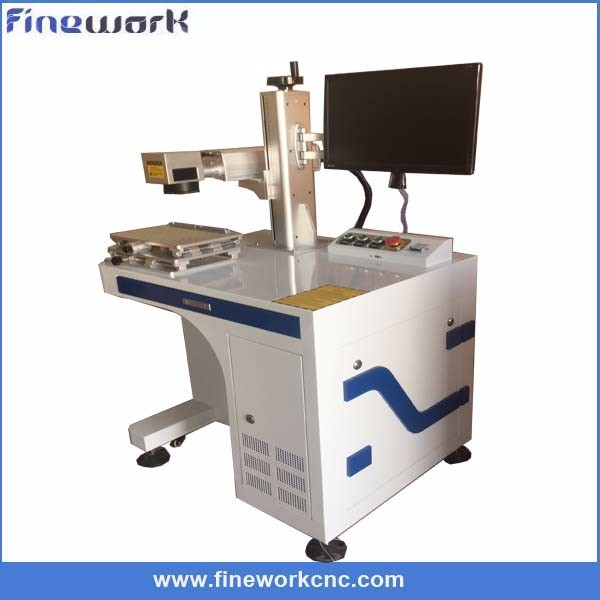 Agent price fiber marking plastic stainless steel engraving machine