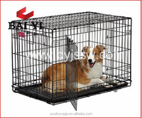 Welded Wire Mesh Dog Cage/Steel Bar Dog Cage With Wheels And Dog Show Cage