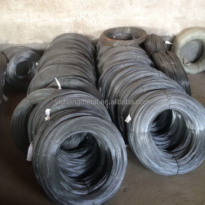 1.6MM Black Aneealed MS Binding Wire Q195 low carbon steel wire coil