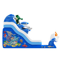 Wholesale latest cheap inflatable bouncing toy kids inflatable water slides china