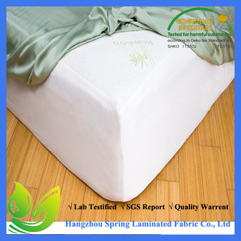 100% Pure Cotton Waterproof mattress protector lux living