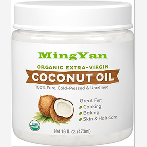 Private label moisturizing skin bulk coconut oil cream