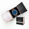 Men Travel Custom Watch Case Box Stand Small Watch Pouch Suede Accessories Velvet Pouch Watch Holders