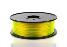 High quality 1.75/3mm PETG/T-glass plastic rolls 3D Printer Filament for FDM, Ultimaker and MakerBot 3D printer