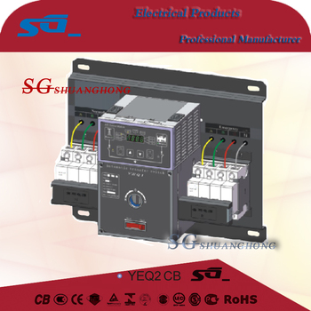 yeq2 Mini Automatic transfer switch ats 63A 220V changeover switch 3P4P