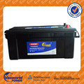 JIS Maintenance free car battery N200MF for heavry duty Truck battery