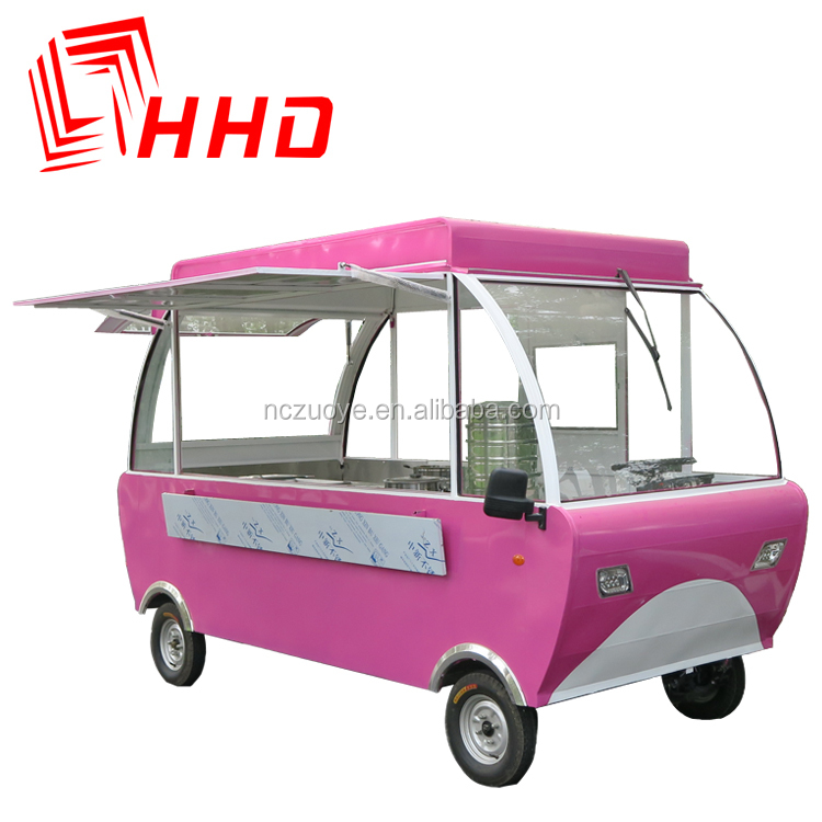 Small mobile kitchen truck used food carts coffee bike for sale