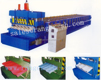 color steel glazed tile roll forming machine for house roof