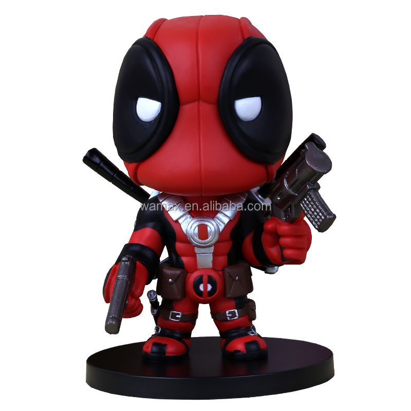 Cheap Funko Pop Action Figure The Marvel Collection Deadpool Figure PVC Dolls