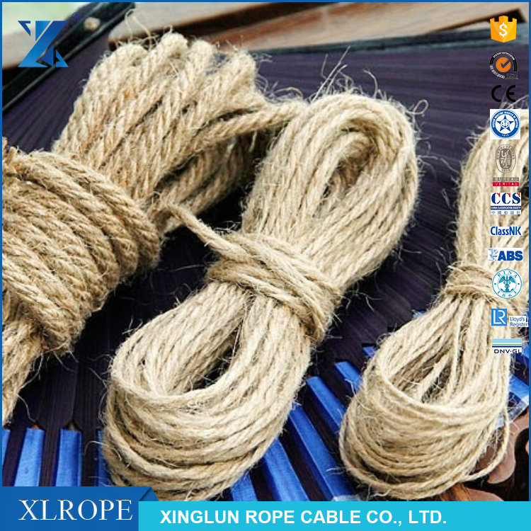jute fiber material twisted rope