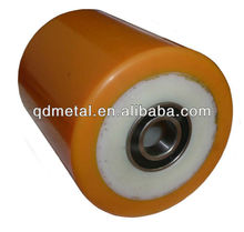 PU Rollers With Nylon core pulley wheels with bearing