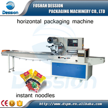 China flow wrapping machine for packing instant noodle