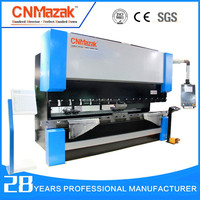 Synchronized tandem press brake for making light poles from CNMazak MACHINERY GROUP