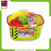 23PCS Kids Play Set Plastic Fruit And Vegetable Toy