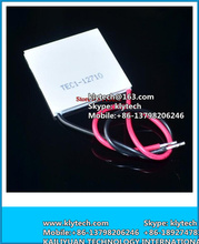 5pcs Wholesale-New 100W TEC1-12710 DC12V 10A Thermoelectric Cooler Peltier 40*40*3.6MM Best prices +Free Shipping! TEC1 12710