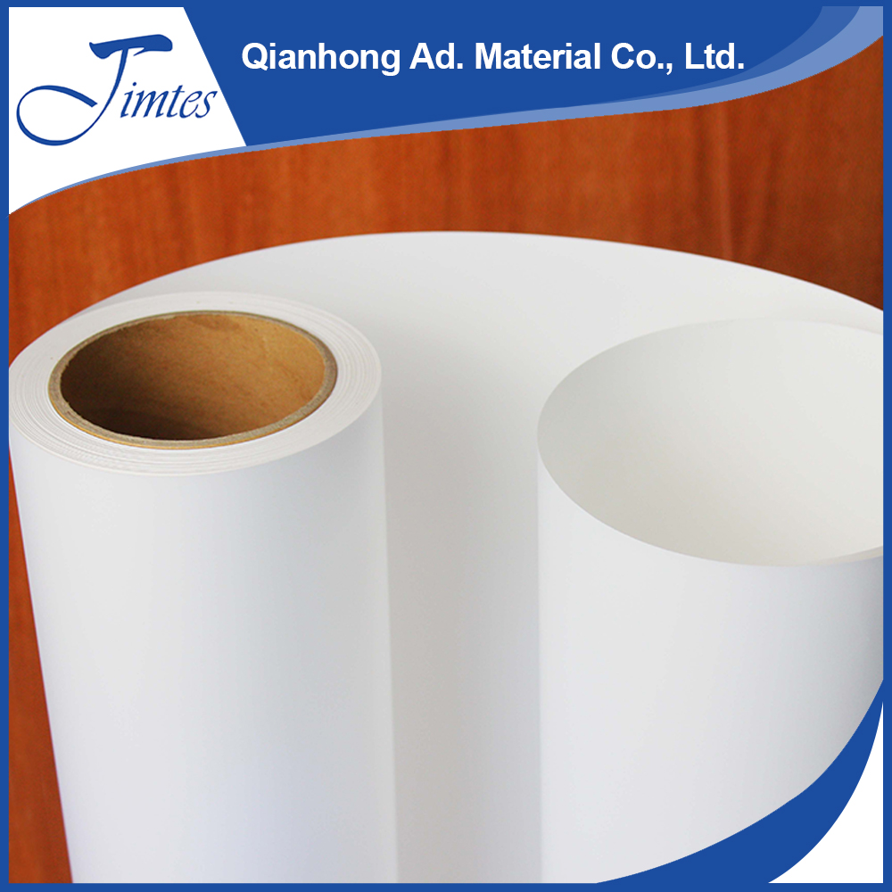 JIMTES high-performance waterbased glossy self adhesive pp paper roll