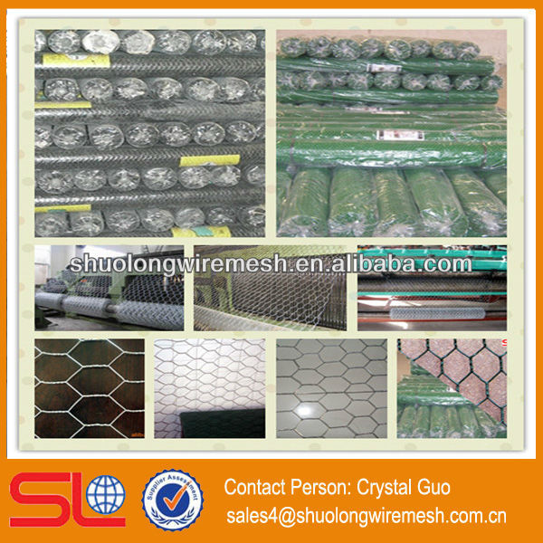 Made in China Hexagonal decorative chicken wire mesh,Hex wire mesh