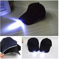 Fashion Outdoor LED Light Up Party Baseball Hats Cap,led cap ,led hat
