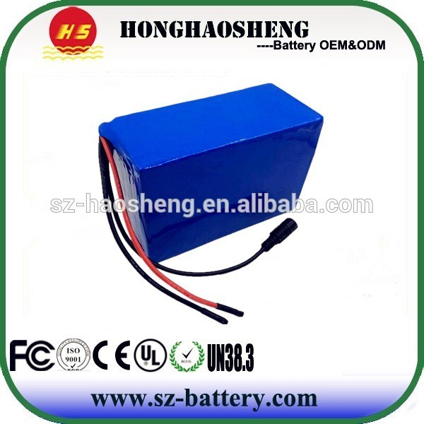 48v 20Ah Samsung 18650 Cells 13S6P Li Ion Rechargeable Battery Pack for E-bike Motorcycle