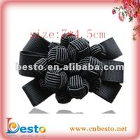 SF0087 Grosgrain Ribbon Rope Knotted Bow