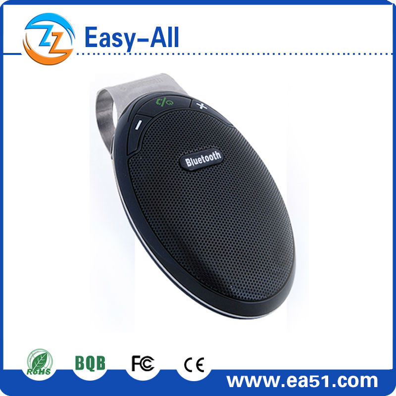 2016 new arrival!!bluetooth 4.1 handsfree speakerphone car kit with dsp technology communications products with CSR chip HF-810