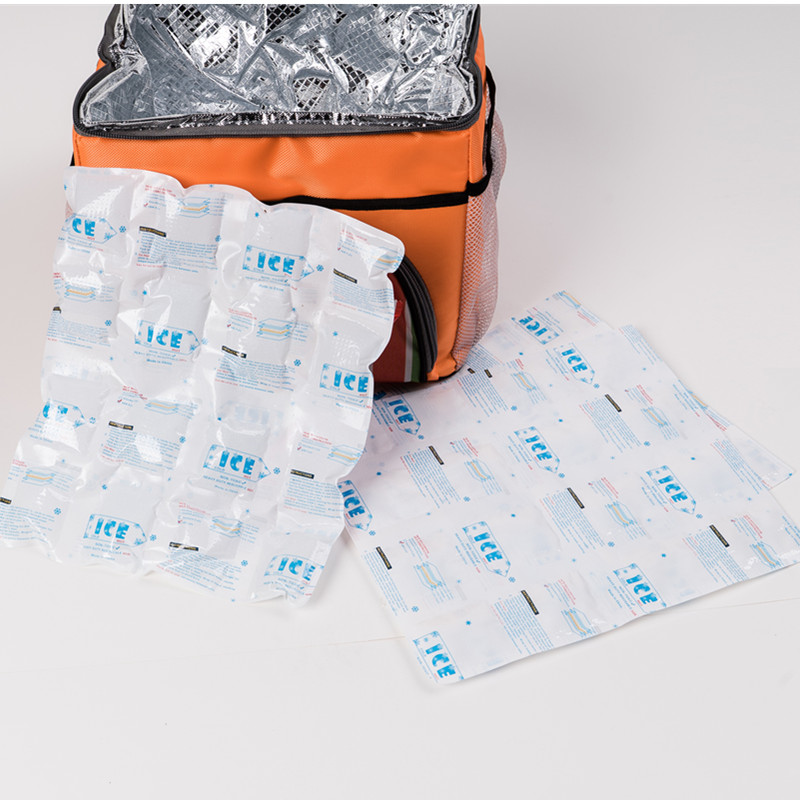 Cheap and light blue cold chain bag ice pack for frozen food
