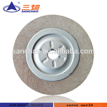 wheel polishing machine / cloth buffing wheel