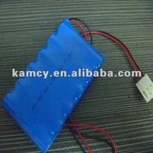 aa 1300mah 7.2volt battery pack for emergency light,backup power