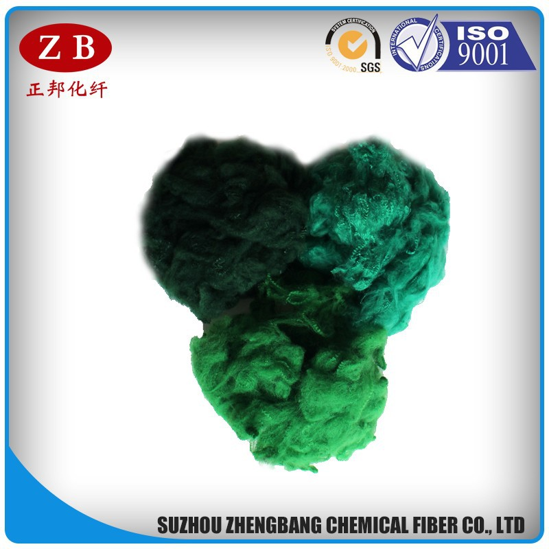 6 denier pet fiber recycled polyester staple fiber