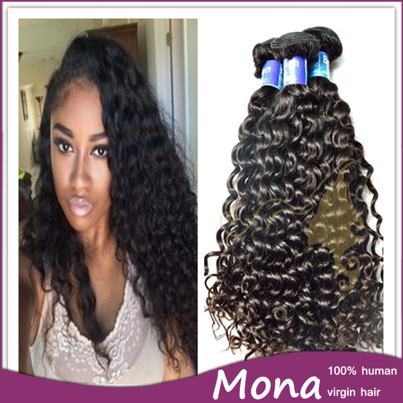 Factory Direct Supply Tight Curl Virgin Brazilian Hair Weaving