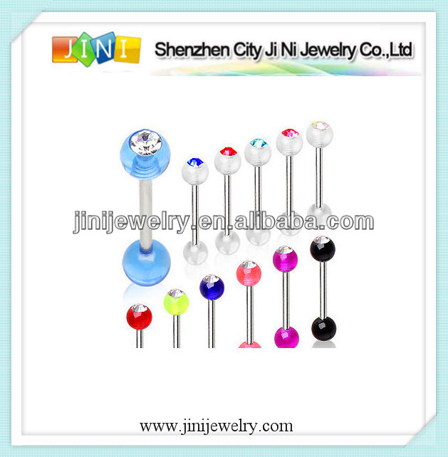 Wholesale acrylic tongue piercing