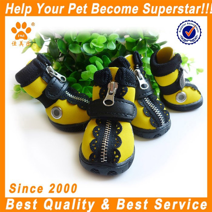 cute fashion pet leisure sporty shoes waterproof dog boots