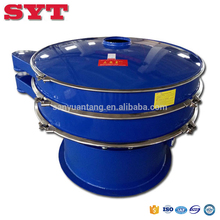 customized vibrating screen design one deck sieving machine