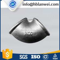 INQO brand high quality malleable iron pipe tee beaded equal 90 alibaba express 45 degree pipe fitting lateral tee