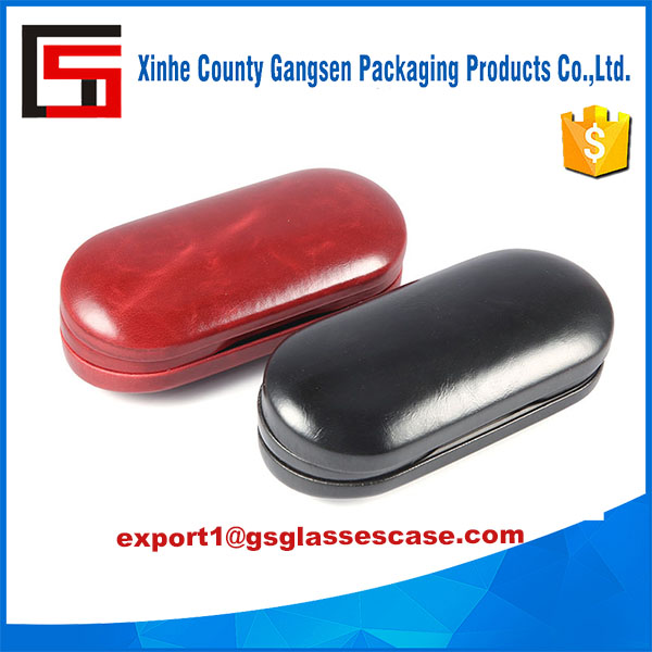 Mirror Contact Lens And Glasses Case With Two Compartments And Integral
