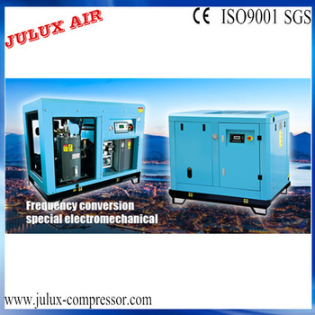 Industrial Frequency Conversion Mini Screw Air Compressor China Express