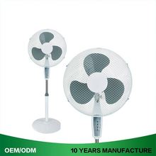 "3 Speed 16"" Standing Fan With Remote Control"