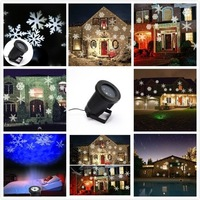 LED Landscape Projector Light,Outdoor Garden Decoration Spotlight, Wall and Tree Christmas Holiday light
