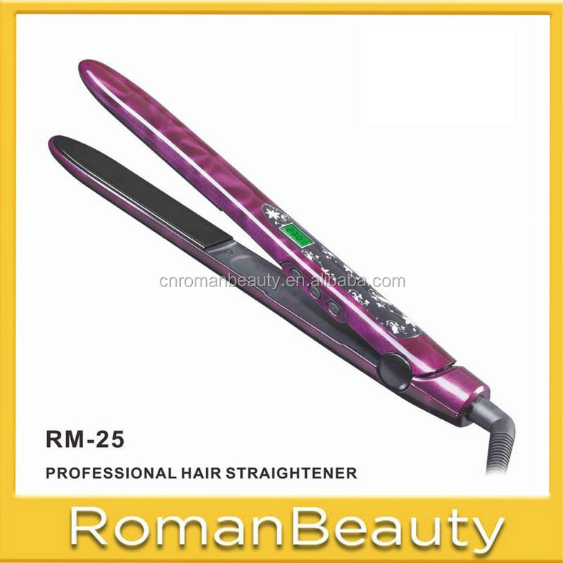 Tautomatic curler 2014 salon tools and equipment ultrasonic iron hair straightener