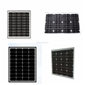 Waterproof Mono Crystal Solar Panel , 40watt Solar Module Panel Heat Dissipation
