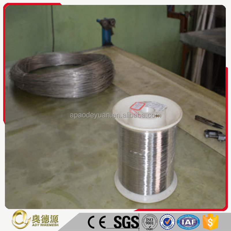 5% discount ISO testing assure Russian pure nickel wire 0.025mm for sale