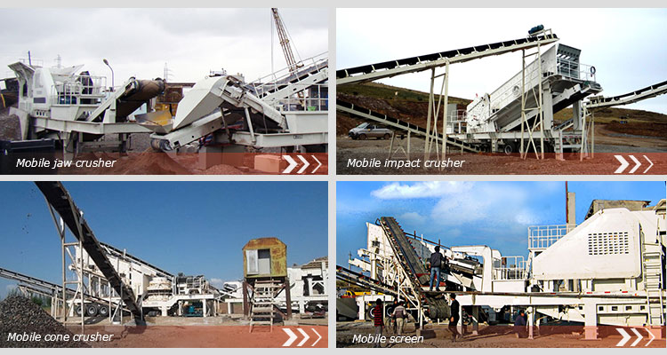 high efficiency good performance big granite mobile movable stone jaw crusher crushing plant station price for sale