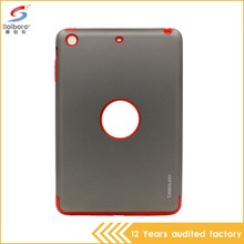 Wholesale Tough case for ipad mini2 hot sell TPU PC cover for ipad mini 2