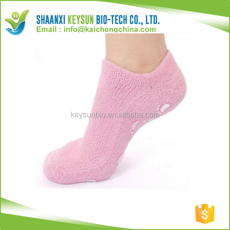 Personal Feet Care Spa Moisturizing Gel Heel Socks for Dry Hard Cracked Skin Comfortable Fit OEM accept