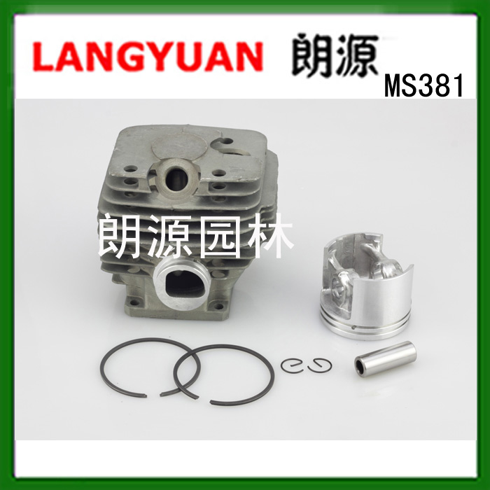 MS381 MS380 Chainsaw Parts cylinder assy approved